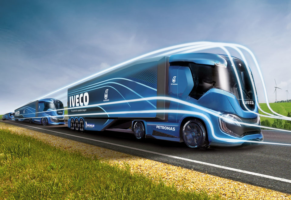 The Z Truck concept anticipates advanced automated driving technologies.