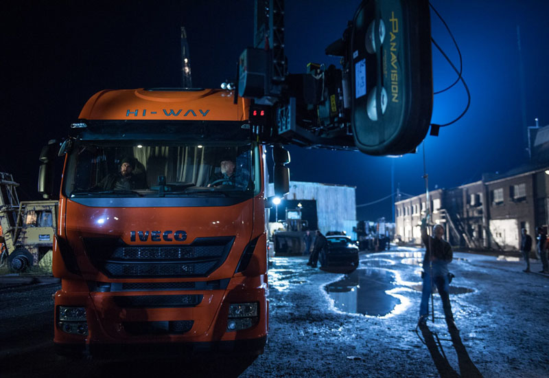 The Iveco Stralis Hi-Way will make its cinematic debut in a high-speed chase scene.