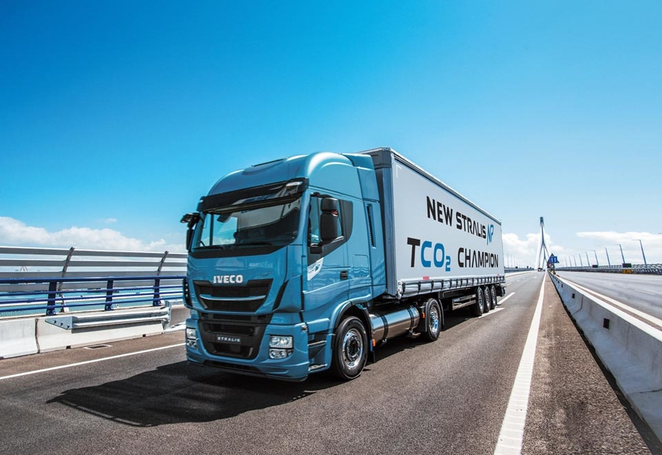 The New Stralis NP has a 7% lower total cost of ownership than an equivalent diesel vehicle.