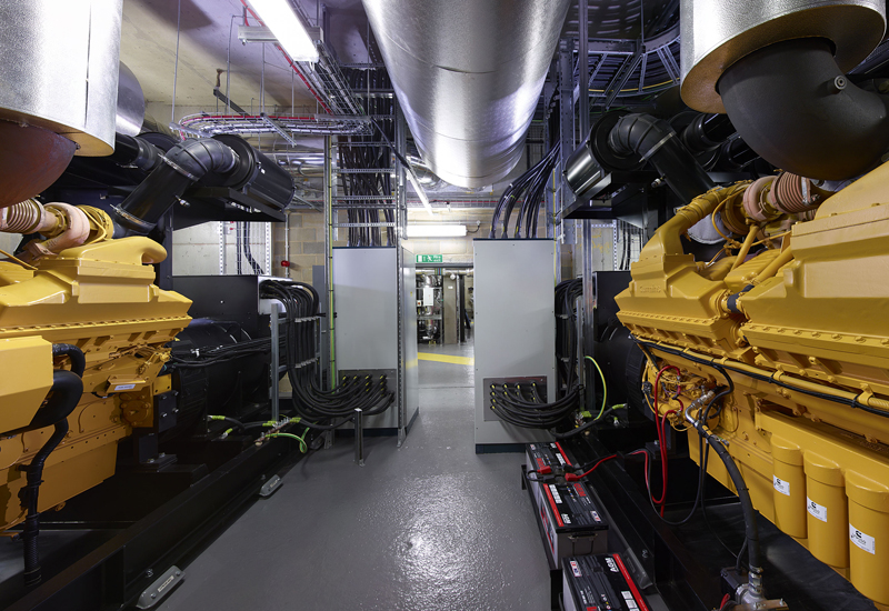 JCB Broadcrown has completed a $2.59m contract to deliver 4,500kVA of critical backup power to St Bartholomew's hospital in London.
