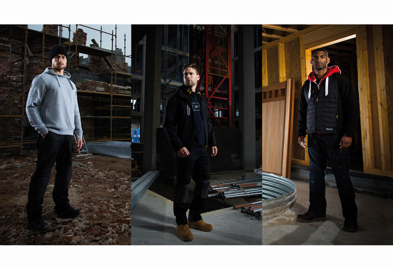 JCB Essential, JCB Trade, and JCB 1945 are designed to appeal to fashion-conscious tradespeople.