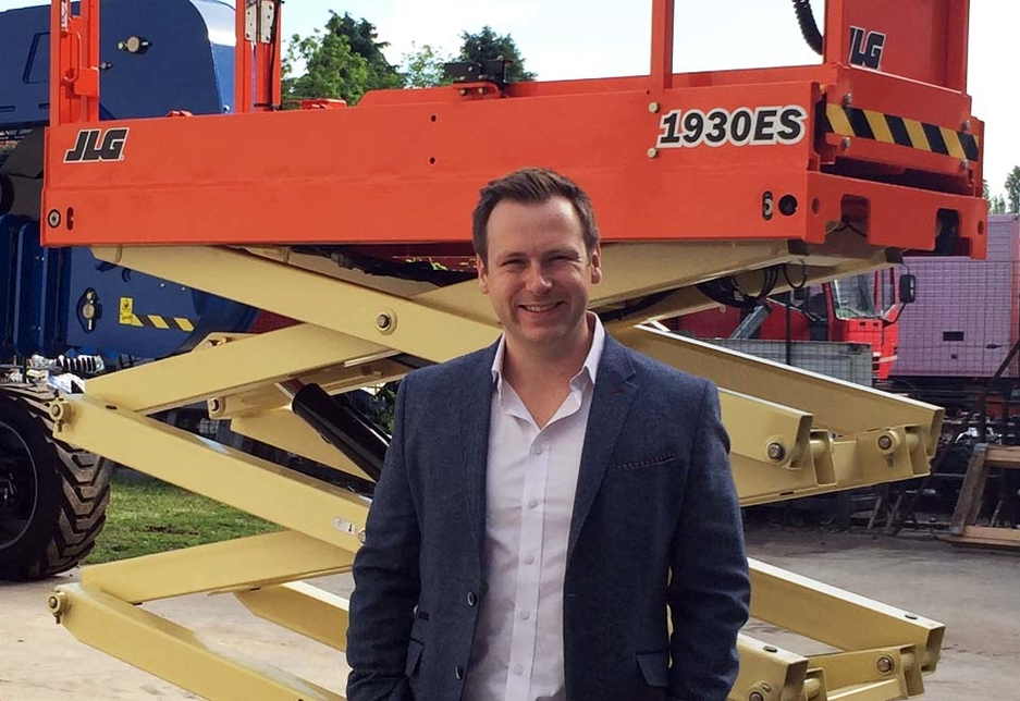 Ian Hume,  sales director for emerging markets at JLG.