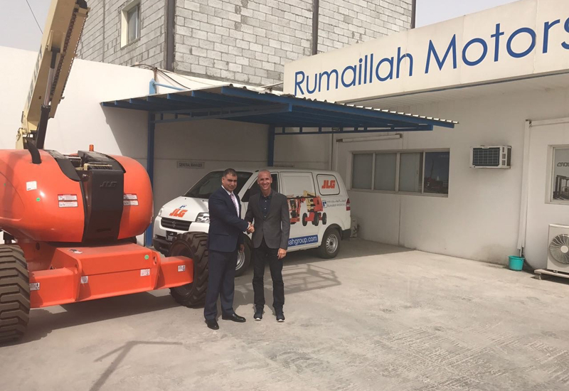Rumaillah Motors will distribute JLG's entire range of aerial access equipment in the Qatari market.