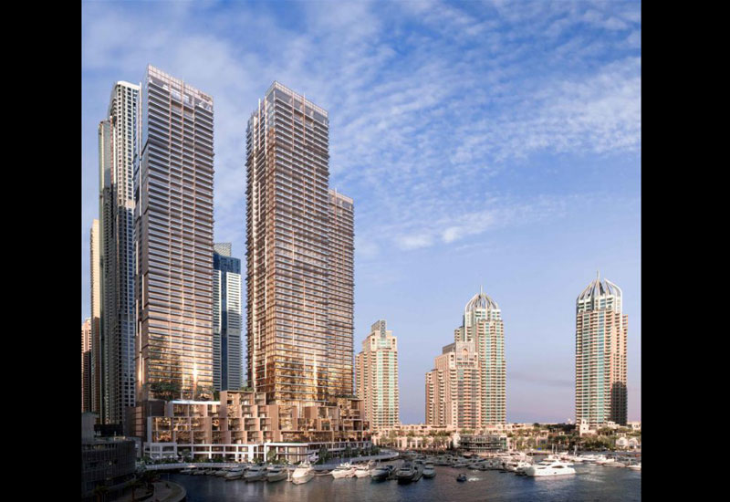 ALEC has been handed a contract to build Jumeirah Living Marina Gate [image: select-group.ae].
