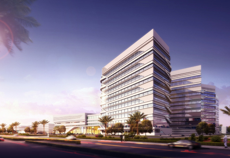 Jahra Medical City was developed by Kuwait's Amiri Diwan [image: Pace].