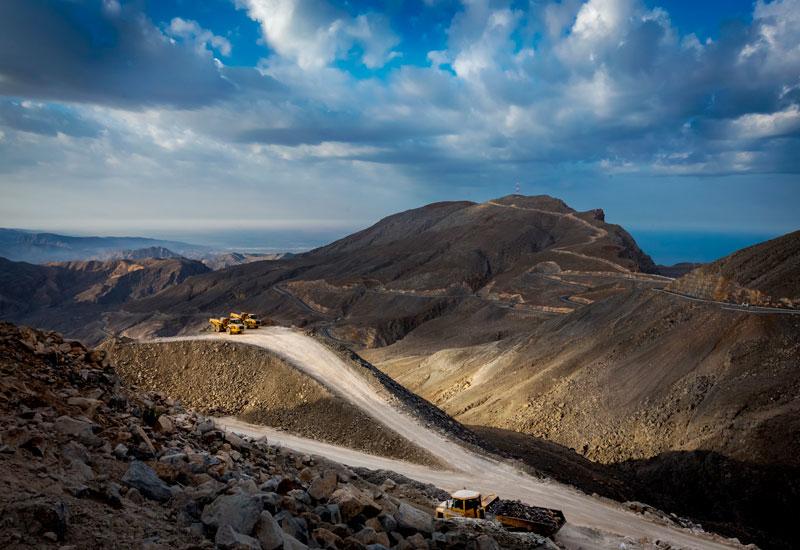 Site Visits, Famco, General mechanic company, GMC, Jebel Jais, Jebel Jais mountain road, Oman, Ras al khaimah, Road construction, Rough terrain, Volvo Group, Volvo Trucks Middle East