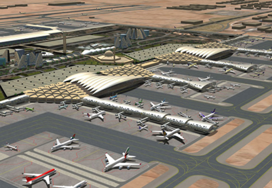 Riyadh's King Khalid International Airport (RUH).