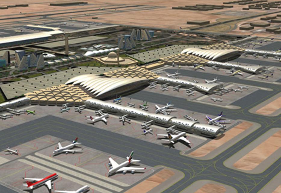 Riyadh's King Khalid International Airport (RUH).