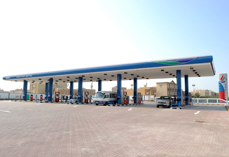 CGC will build 10 fuel stations for KNPC around Kuwait [image: knpc.com].