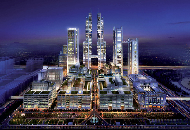 One Central is expected to complete in 2017.