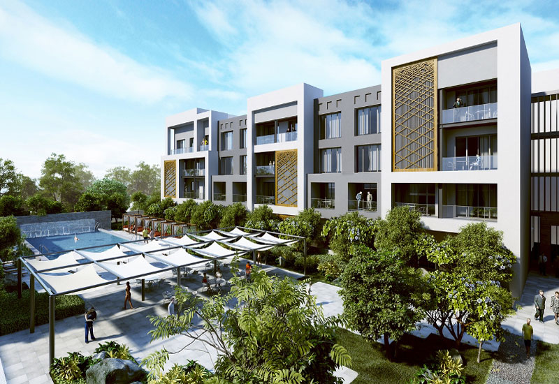 Al Mouj, Muscat, will comprise marina-view residences.