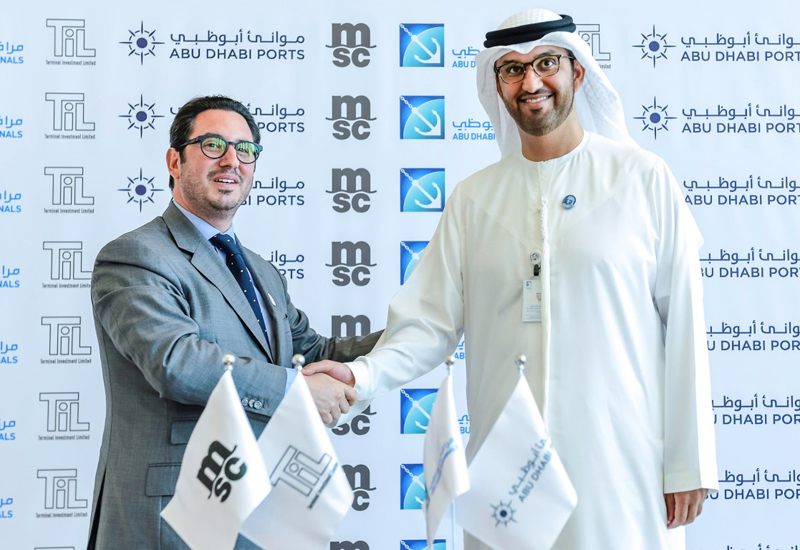 MSC and Abu Dhabi Ports signed the $1bn agreement in May 2018.