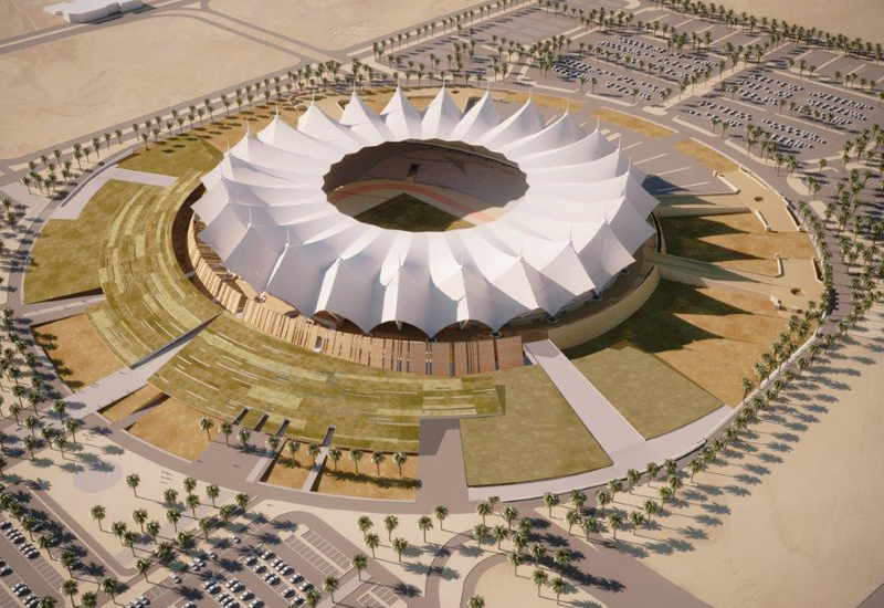 Once Schiattarella Associati has completed modification works, Riyadh's King Fahd International Stadium will be able to accommodate 50,000 spectators.