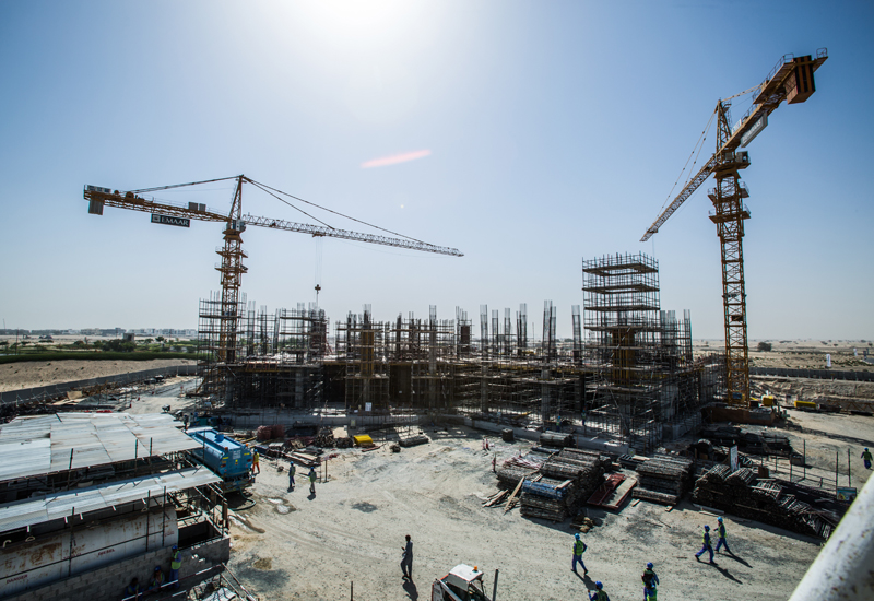 The hospital is a private project within the Dubai Hills Estate master development.