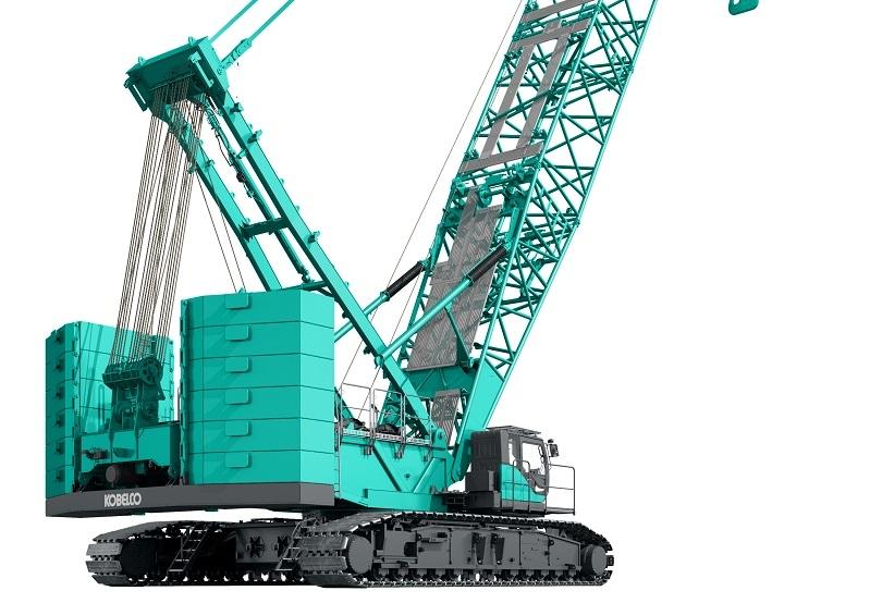 Kobelco crane with Scania engine.