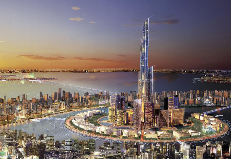 Silk City is expected to promote global long-term investment into Kuwait [image: KUNA].