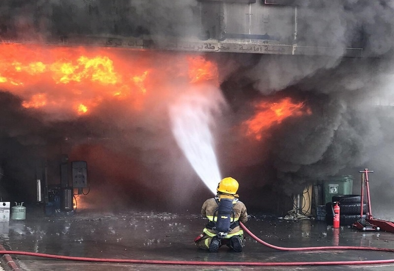 KFSD's chief outlined the country's recent fire safety sector statistics [image: KUNA].