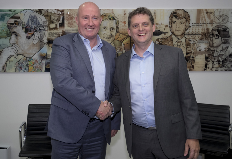 Matt Squires (right) will replace Bob Hope (left) as CEO of SSH from 1 September, 2017.