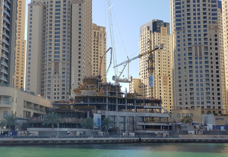 Construction of LIV Residence Dubai Marina is more than 20% complete.