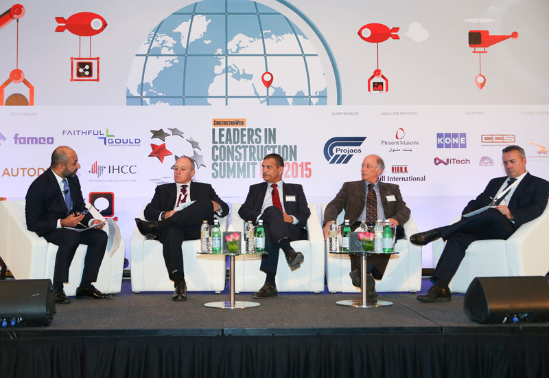 SPECIAL REPORTS, Sectors, Aecom, Al shafar general contracting, Alec, Atkins, Autodesk, Bentley Systems, China state construction engineering corporation middle east, Construction, Dubai, Famco, Leaders in Construction Summit UAE, Pinsent Masons