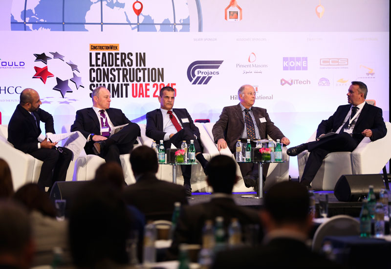 SPECIAL REPORTS, Sectors, Arcadis, China State Construction Engineering Corporation, Construction, Leaders in Construction Summit UAE 2015, Middle east, Summit