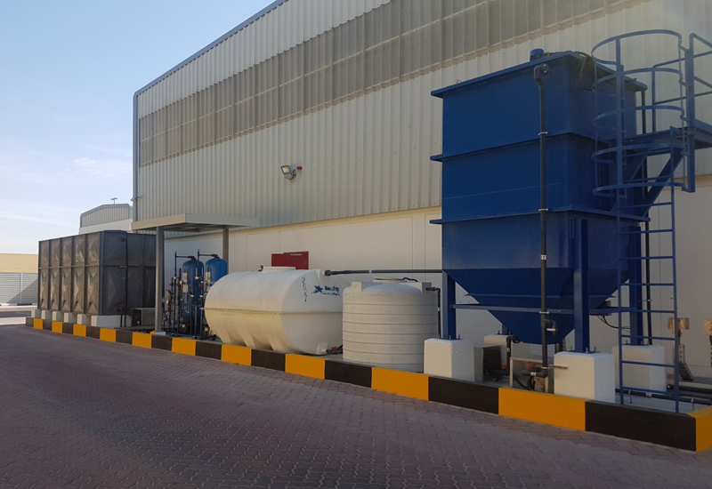 Leminar has commissioned a wasterwater treatment plant in Dubai.