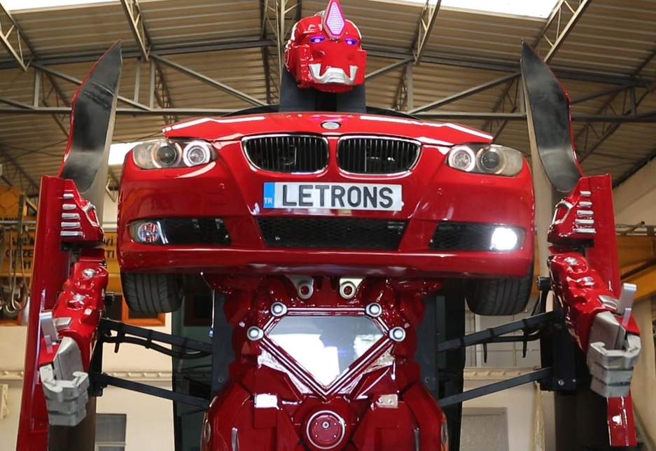 Transformers, long the preserve of science-fiction, inch a little closer to reality with the launch of the Letrons.