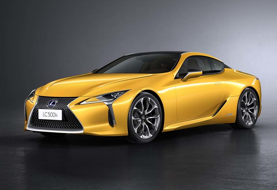 The LC 500h coupe is the first multi-stage hybrid vehicle and the most recent model released by Lexus.