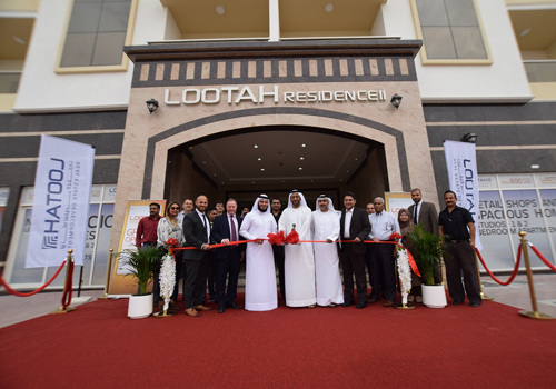 LRED inaugurated the 100-unit Lootah Residence II in Dubai's International City.