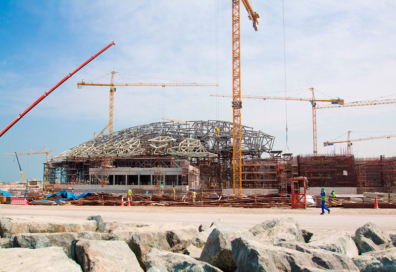 The UAE's Louvre Abu Dhabi museum is one of Arabtec's projects, and is due to open this month.