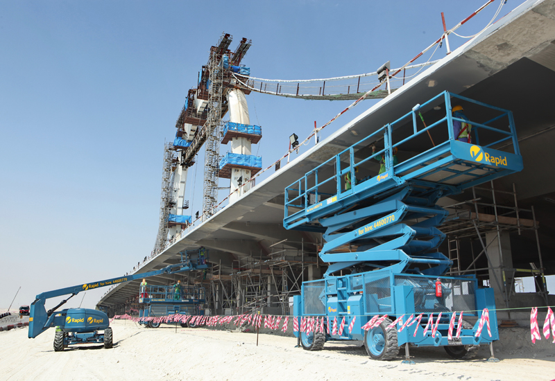 Changing tide: low market liquidity and  project uncertainty are driving growth in the Gulf's equipment rental segment.