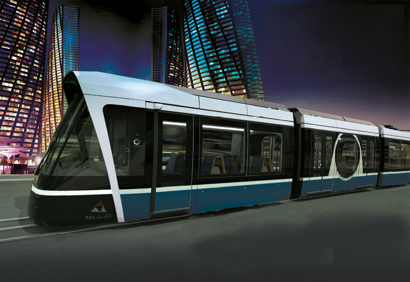 The Lusail Tram design, Al Mehmal is inspired by the traditional Qatari pearl fishing boat.