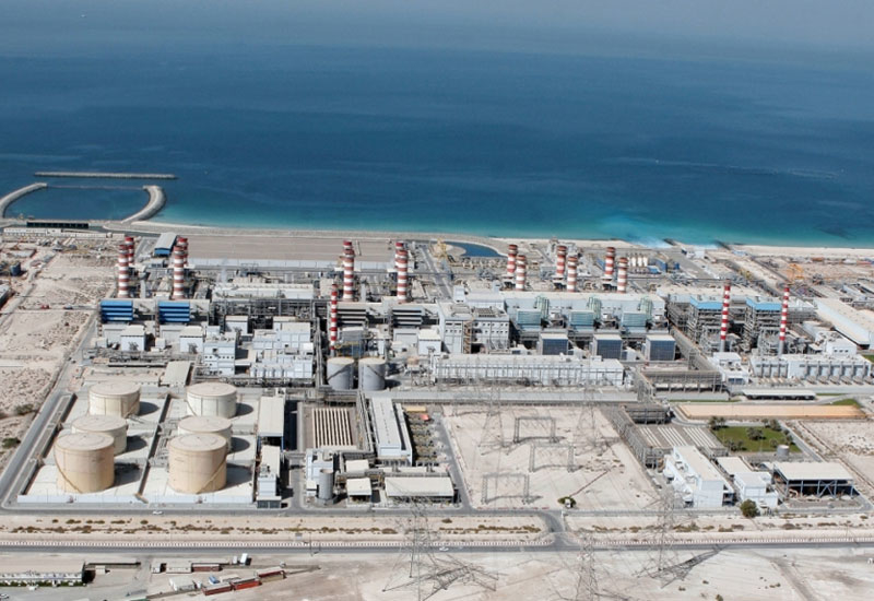 A reverse osmosis desalination plant will be developed at Jebel Ali Power Station (JAPS). [Image: Dubai Media Office]