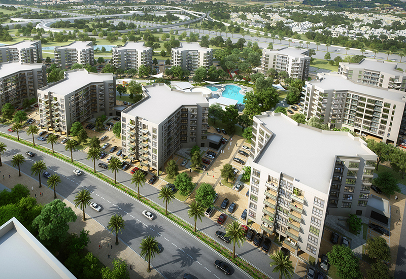 MAG 5 Dubai South is located in Dubais largest greenbelt.