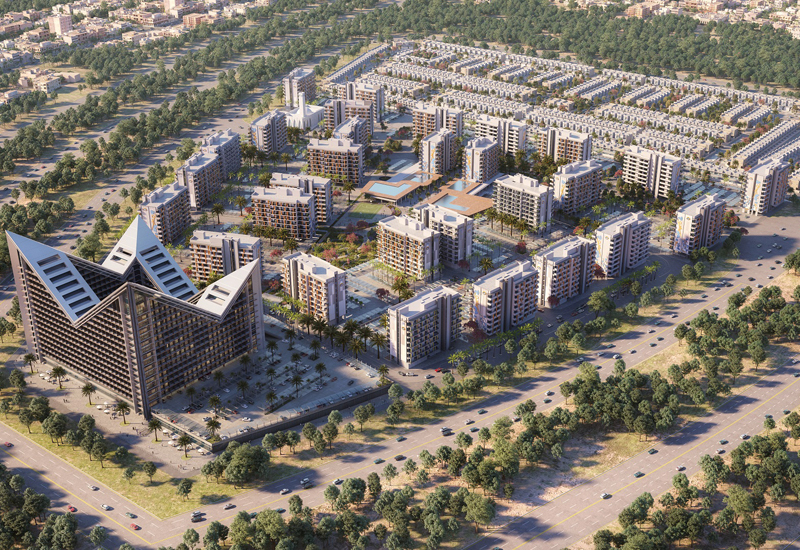 MAG Eye is a master-planned community of flats and townhouses.