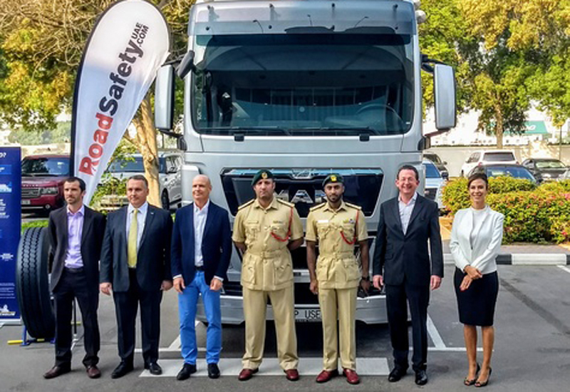 The commercial vehicle road safety event was organised by Dubai Police, MAN Truck & Bus Middle East, and RoadSafetyUAE.