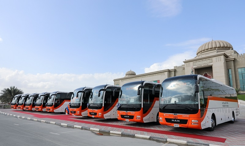 Dubai's RTA has signed an agreement with Volvo, MAN, and Optare to procure Euro 5 and Euro 6 buses [representational image].