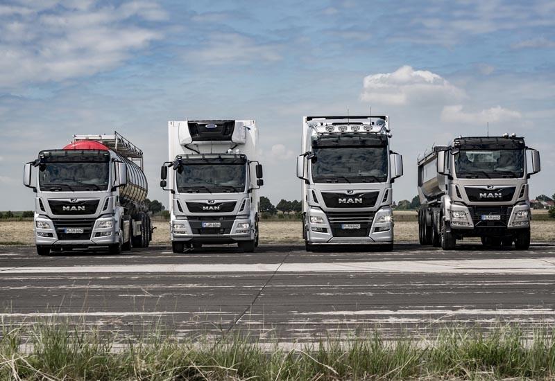 MAN's IAA portfolio of 'future-proof' trucks.