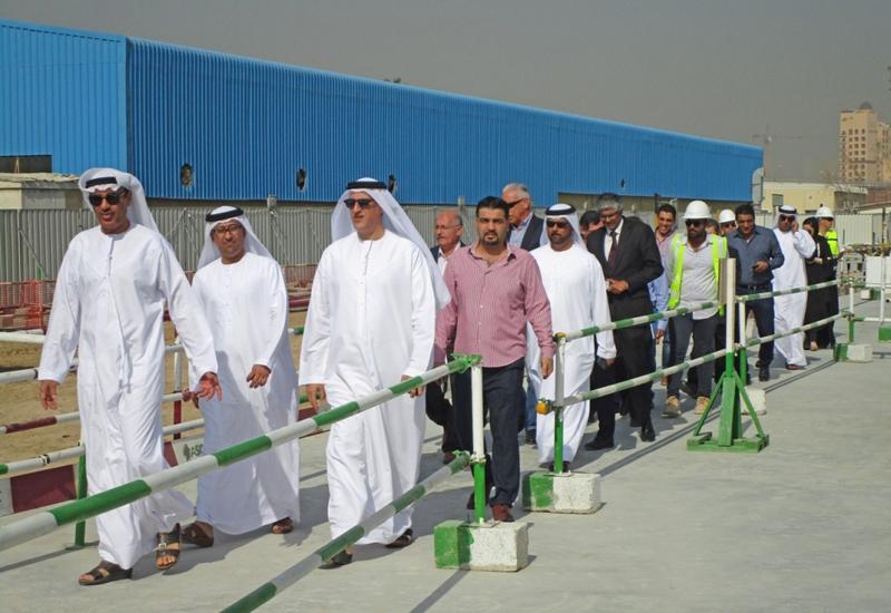 Dubai Municipality officials inspected Mohammed Bin Rashid Library on 18 April, 2017.