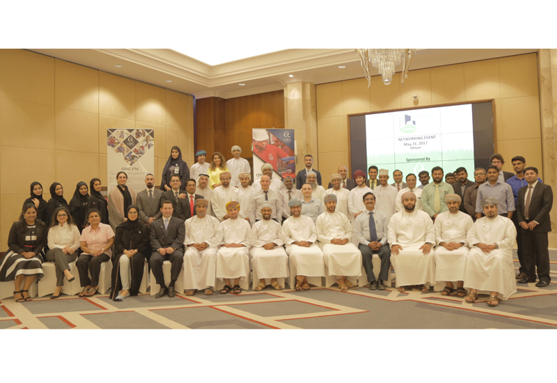 The networking event was organised by MEFMA and supported by QBG along with other corporate companies from the Oman.