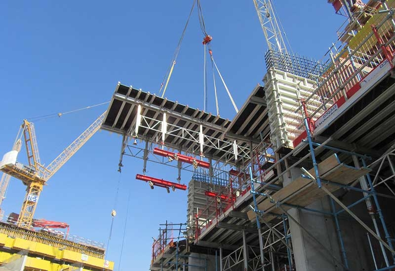 Demand for formwork systems and services was positive and strong in 2017, according to Farina.