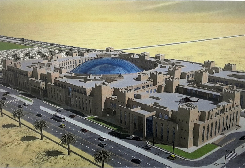 Rendering of new buildings for General Directorate of Nationality, Borders and Expatriates Affairs. (Image MOI)