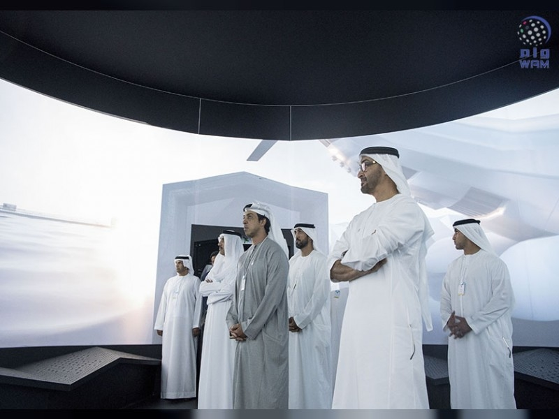 HH Sheikh Mohamed bin Zayed Al Nahyan, Crown Prince of Abu Dhabi and Deputy Supreme Commander of the UAE Armed Forces, inspected Dubai's Museum of the Future. [Image: WAM]