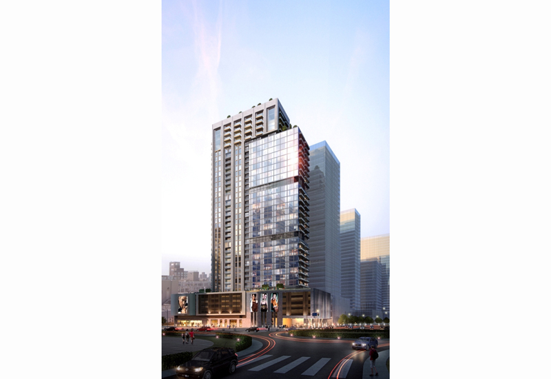 Located in Downtown Dubai, Artar's Mada Residences will feature 193 one- to four-bedroom apartments upon completion.