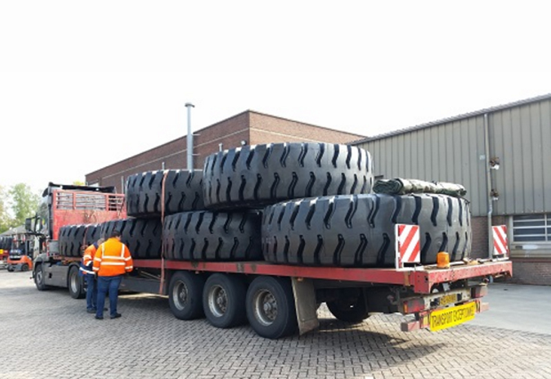 Magna Tyres has shipped 16 of its 36.00R51 MA09 units to Saudi Arabia as part of a two-batch order.