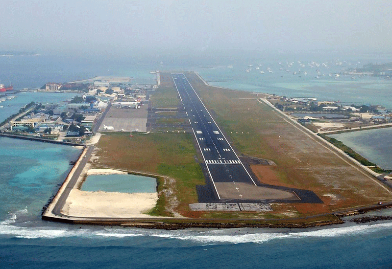 Gulf Cobla has started reclamation work for the expansion of the Ibrahim Nasir international Airport.