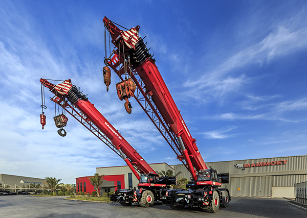 Mammoet aims to grow its crane rental services.