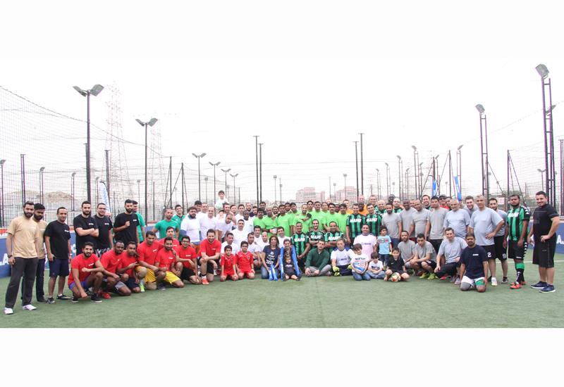 Mapei's first Dubai football tournament was won by Ready Mix Beton (RMB).