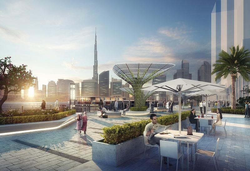 Marasi Business Bay Promenade, part of Dubai Properties' $272m Marasi Business Bay development, will open in November 2017 along with Dubai Water Canal.
