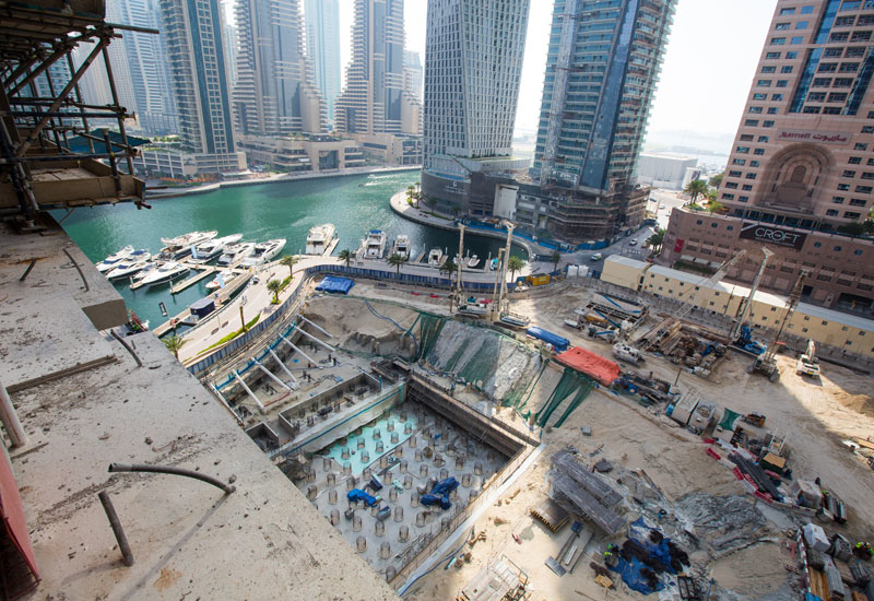 Marina Gate will feature three towers.